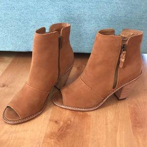 Corso Como Brown Suede & Leather Booties